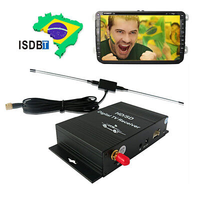 South American Terrestrial ISDB-T Digital TV Box receiver Tuner Car Mobile Radio