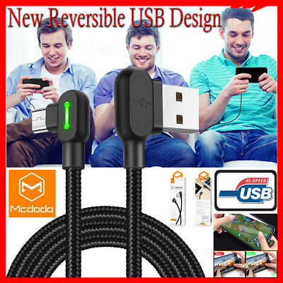 Mcdodo Micro USB Data Sync Charger Charging Cable Cord for Android Samsung LG