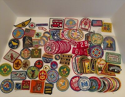 Boy Scout Patches Lot of 120+ 1960's - 1990's