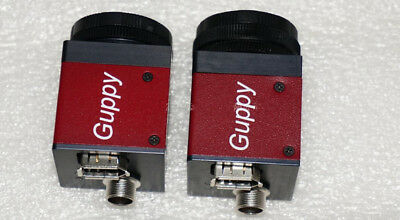 2pcs AVT Guppy F-080B 800 megapixel CCD industrial camera 1394A 30/fps