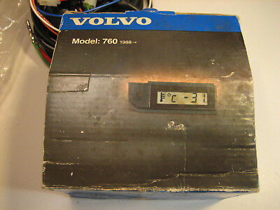 Genuine NEW Volvo 760 Digital Ambient Temperature Gauge 3523960 740 940 960