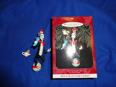 HALLMARK CHRISTMAS ORNAMENT 1999 The Cat in the Hat Dr Seuss