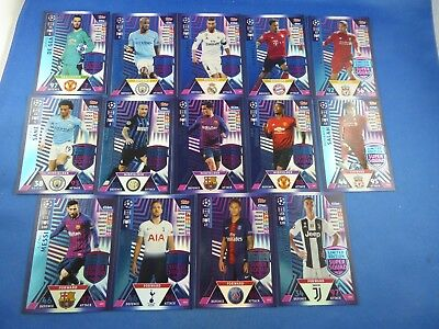 Match Attax Champions League 2018/2019 Limited   ZUR AUSWAHL / TO CHOOSE