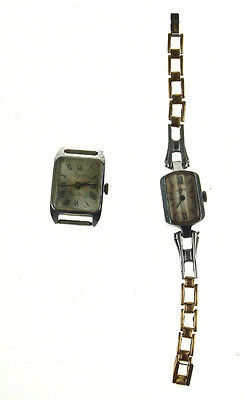 2 pcs Old Vintage Russian Mechanical LUCH Wristwatch watch not working Nr 4922