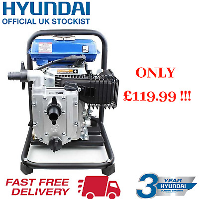 "Hyundai HY25-4 25mm / 1"" Portable 4-Stroke Petrol Water Pump"