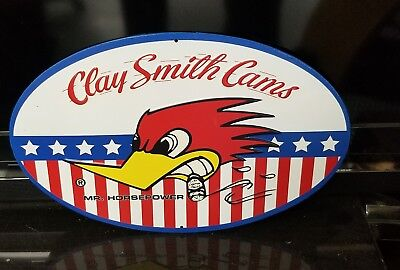 CLAY SMITH CAMS MR HORSEPOWER WOODY WOODPECKER VINTAGE Style METAL SIGNS NEW