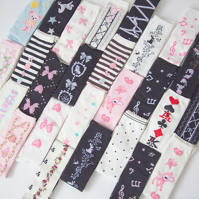 Sweet Girls Lolita Stockings Over Knee Socks Bowknot Thigh High Socks Cosplay