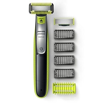 Philips Norelco OneBlade Face + Body hybrid electric trimmer and shaver, QP2630/
