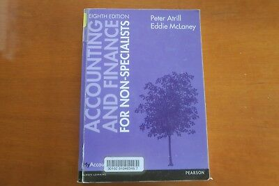 Accounting And Finance For Non-Specialists 8th Edition