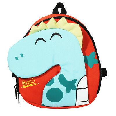 Child Toddler PreK Movie Cartoon Book Bag  School Backpack Dinosaur-Green New JI