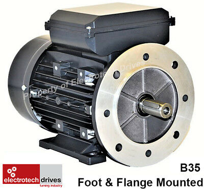 Single Phase Motors  0.18kw to 4kw 240v 1400rpm and 2800rpm Suits Lathes Drills