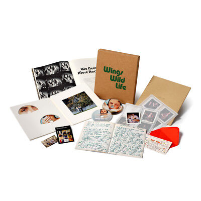 PAUL MCCARTNEY & WINGS - WILD LIFE (DELUXE BOX SET)(3 CD/DVD) New