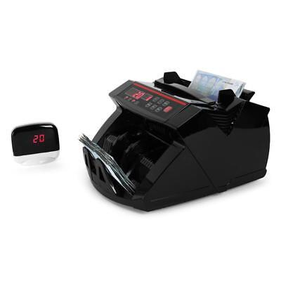 Retail Money Counting Machine Banknote Currency Cash Counter With Fraud Uv Check