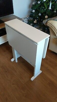 Occasional White Ikea Butterfly Folding Dining Table Space Saving Gate Christmas