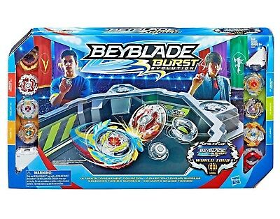 Beyblade Burst Evolution Ultimate Tournament Collection Tops and Beystadium gift