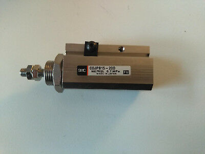 Pneumatic Cyclinder SMC CDJPB15-20D MAX PRESS 0.7 MPa. Brand New 3 available.