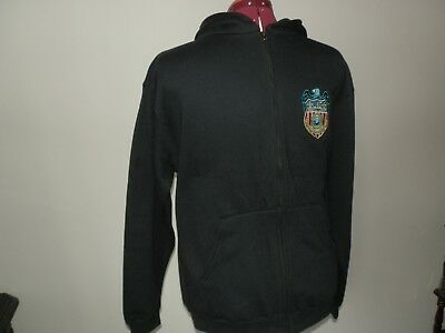 NCIS Agents Shield embroidered onto Hoodie size 34inch chest, 152cm height New