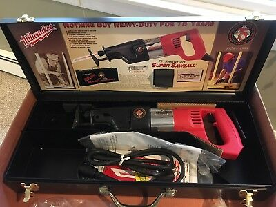 New --- MILWAUKEE 75th Anniversary LIMITED EDITION Sawzall
