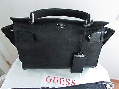 09dd221395 TRES BEAU AUTHENTIQUE Sac A Main + Bandouliere Guess Noir - EUR 1,00 ...