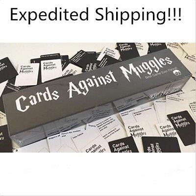 Cards Against Muggles Table Game Party Home Gift US 1356 Cards Fast Delivery
