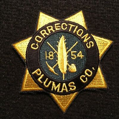 Nevada - Plumas County Corrections Patch