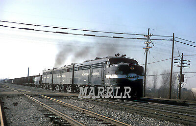 RR Print-New York Central NYC 1057 at Erie Pa 10/3/1958