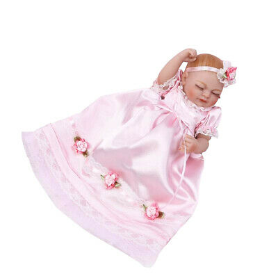 """Realistic 11"""" Reborn Baby Girl Infant Doll Newborn Toddler Kid Clothes Model"""