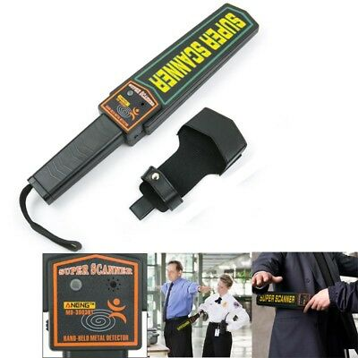 Portable Hand-held Metal Security Detector Super Scanner Wand Airport Scan 270mW