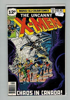 Uncanny X-Men (1963) # 120 UK PRICE VARIANT (7.0-FVF) 1ST APLHA FLIGHT (434492)