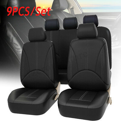Funda Cubierta Asiento Coche Completo Protector Impermeable Respaldo Cojín Cover
