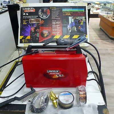 Lincoln Electric MIG PAK HD MIG/FLUX-CORED WIRE WELDER *NICE*