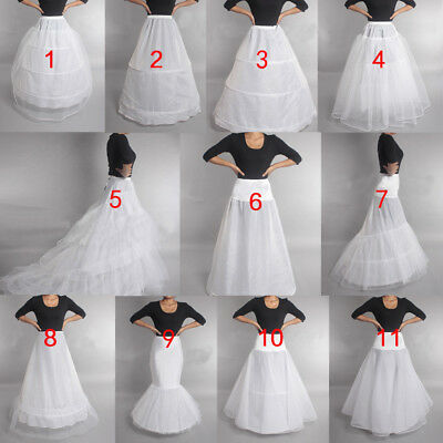 Prom Dress Bridal Slip Hoop Skirt  Wedding Petticoat Underskirt Crinoline
