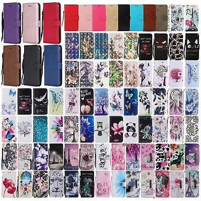 For Huawei P20/Lite/Pro OWL magnetic Dreamcatcher card holder stand phone case