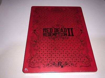 Caja STEELBOOK RED DEAD REDEMPTION 2. - LIMITED EDITION  Juego PS4 XBOX ONE