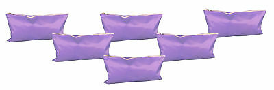 Travel Pouch All Purpose Lot of 6 Purple Travel Cosmetic Bag School Supplies