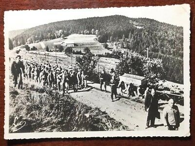 RPPC Postcard ~ Struthof Concentration Camp in France with Rare Cancellation