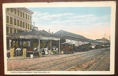 New Orleans, La ~ Old French Market Postcard
