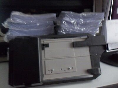 Manual Credit Card Imprinter (Knuckle Buster) and 20 Packs of Forms