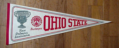 1978 OHIO STATE BUCKEYES SUGAR BOWL FULL SIZE PENNANT Unsold Stock DISCOUNTED AA