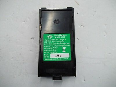 WHITES Rechargeble Nicad 802-5211 Battery Pack for Metal Detector *LOOK*