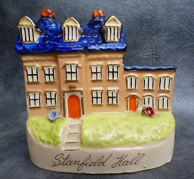A Good Antique Staffordshire Pottery Stanfield Hall Model