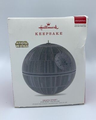 Hallmark Keepsake - 2017 Star Wars - Death Star - Christmas Ornament