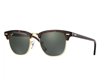 Ray-Ban CLUBMASTER Classic Tortoise 51mm
