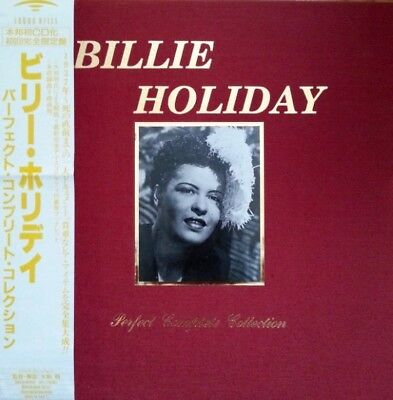 SOUND HILLS 12-CD Box SSCD-8005-16: Billie Holiday - Perfect Complete Collection