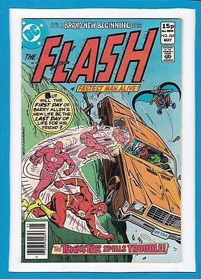 """The Flash #285_May 1980_Very Fine+_""""the Trickster Spells Trouble""""_Bronze Age Uk!"""