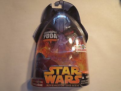 Star Wars Toys R Us Exclusive Holographic YODA