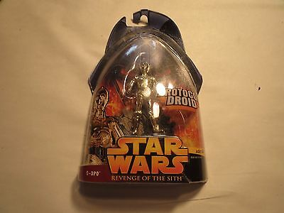 Star Wars Revenge of the Sith C-3PO Protocal Droid Figure # 18