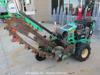 """2013 Ditch Witch RT16 Walk Behind Trencher 36"""" Trench Depth- Repair"""
