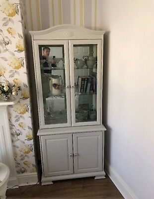 armoire , STUNNING, Painted In Farrow And Ball Grey. Beautiful!