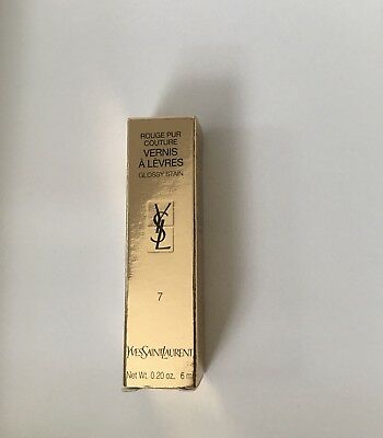 YSL Yves Saint Laurent - Lipgloss  Farbe: Koralle, Corall Nr. 7
